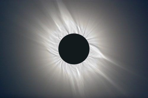 Corona during a Solar Eclipse