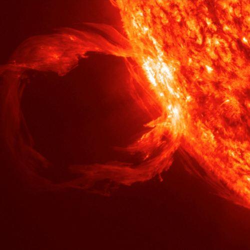 A Solar Prominence