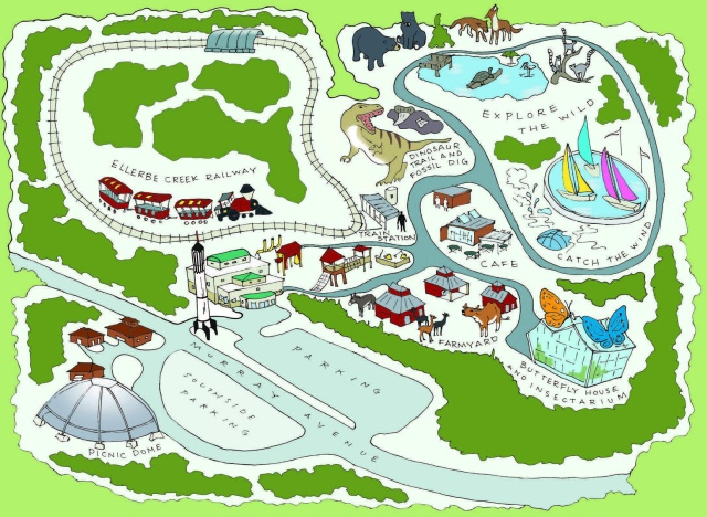 Museum of Life + Science Map