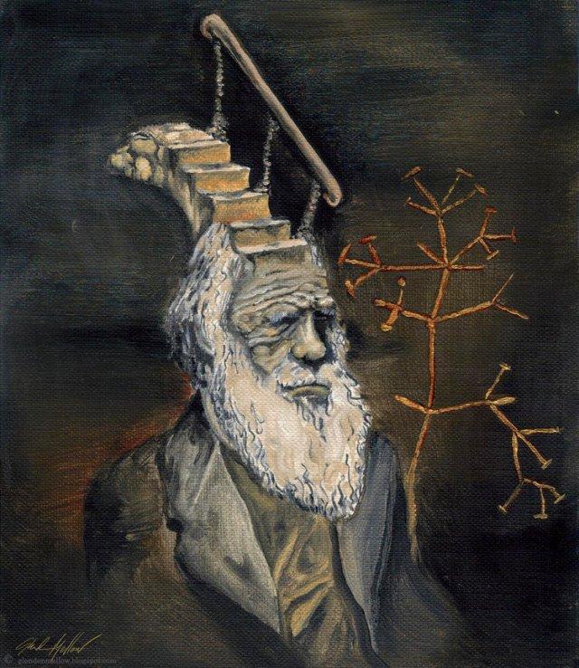 Darwin Took Steps, by Glendon Mellow