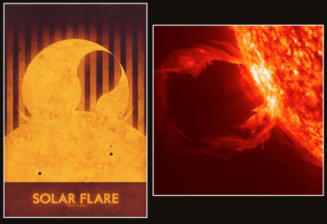 Sun: Solar Flare, by Ron Guyatt