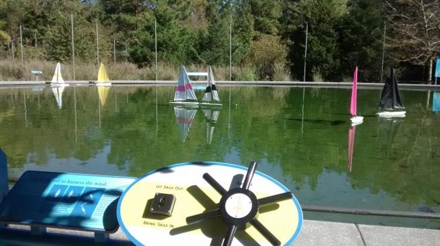 Sailboat Pond, Museum of Life + Science, Durham North Carolina, BorntoScience
